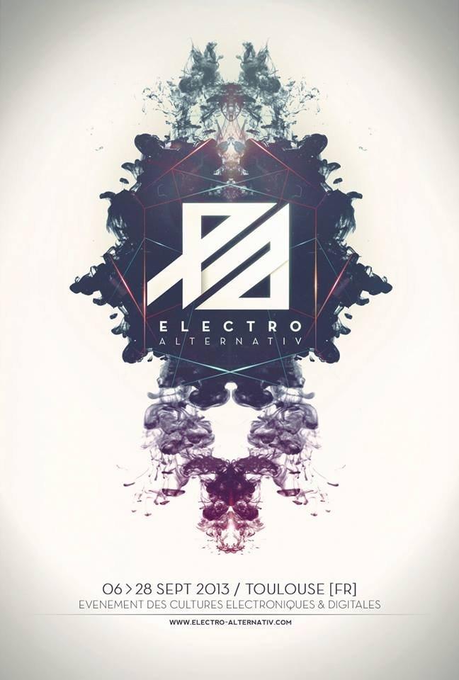 poster electro alternativ 2013 toulouse on inspirationde. Black Bedroom Furniture Sets. Home Design Ideas
