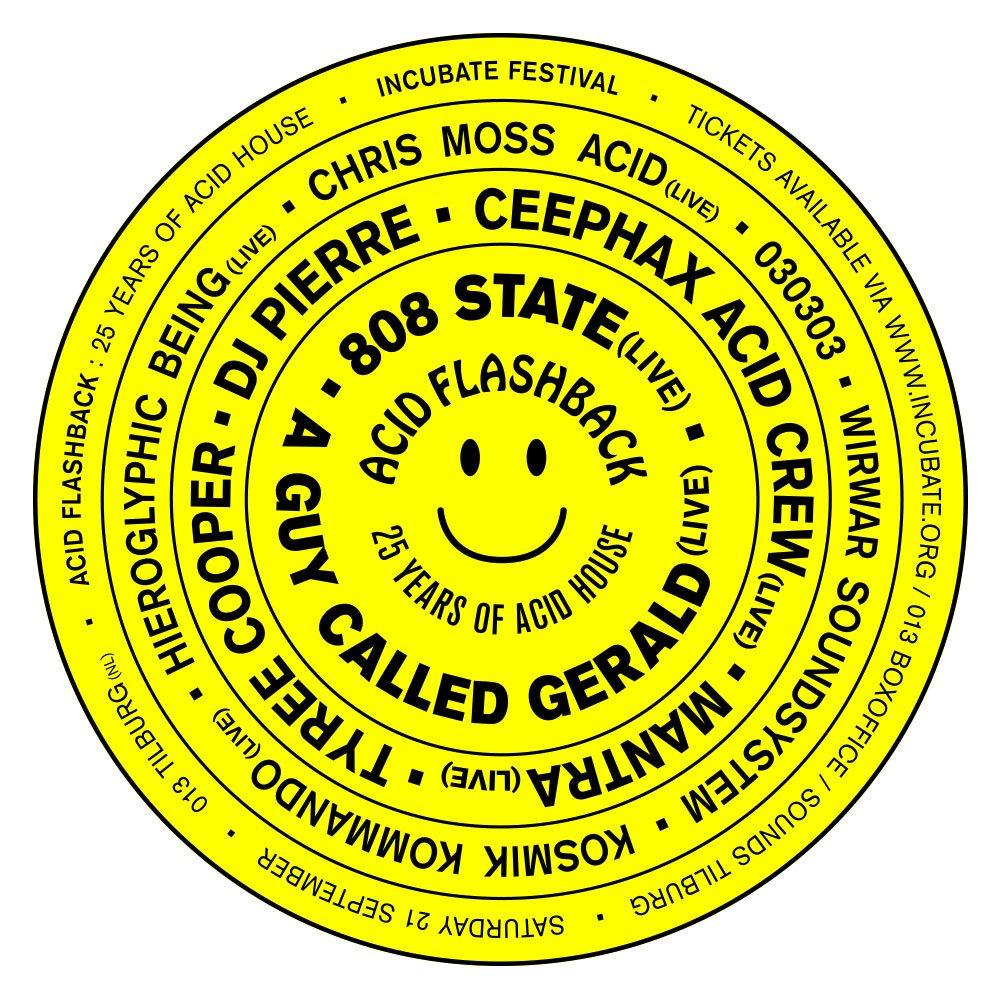 Ra incubate 2013 acid flashback 25 years of acid house for Acid house tracks