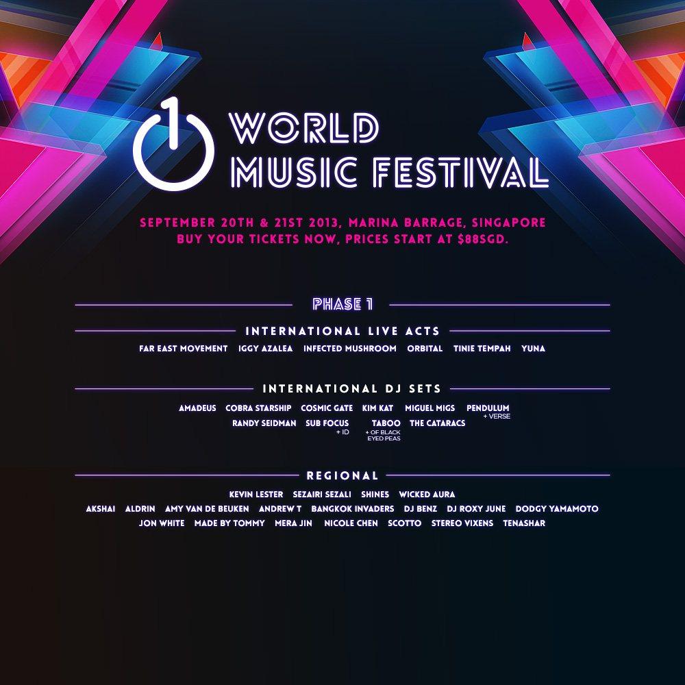 World Music Festival Logo 1 World Music Festival