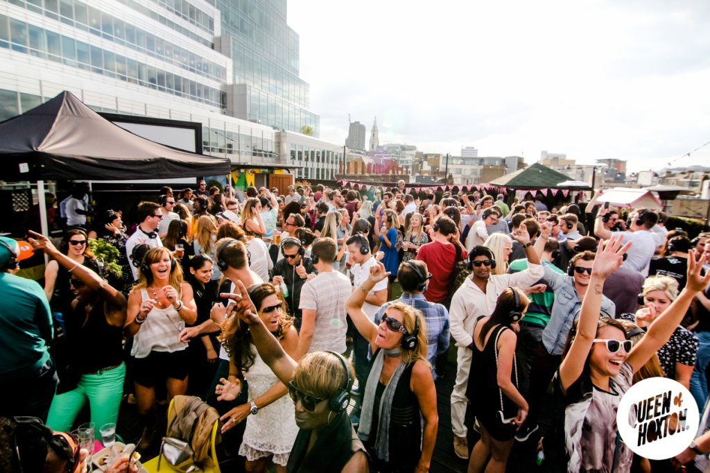 RA: End Of Summer Rooftop Silent Disco at Queen Of Hoxton ...