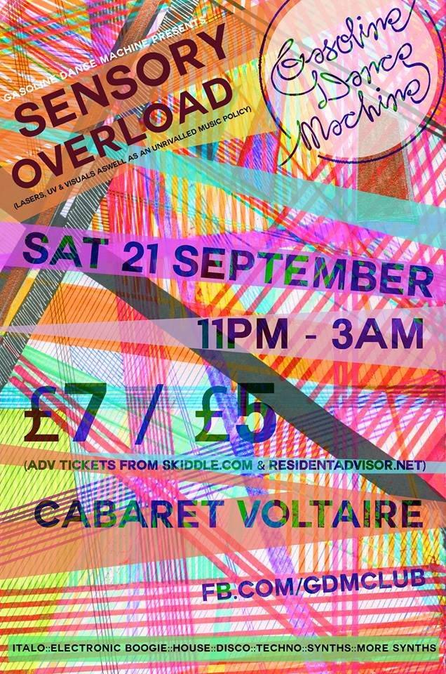 Cabaret Voltaire Gasoline In Your Eye