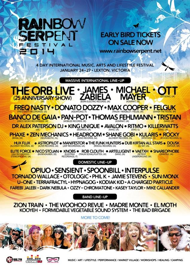 ra  rainbow serpent festival 2014 at lexton  melbourne  2014