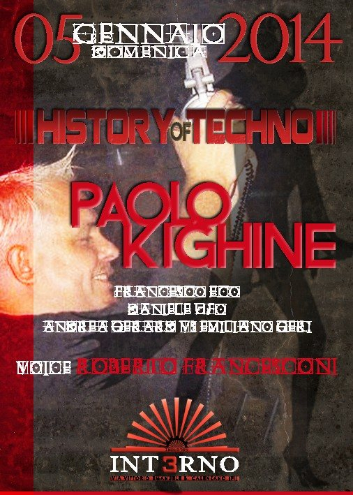 Ra History Of Techno Paolo Kighine At Interno 3