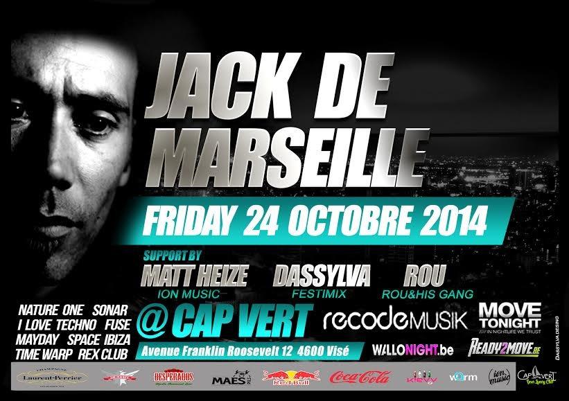 RA: Jack de Marseille at Le Cap Vert, Belgium (2014)