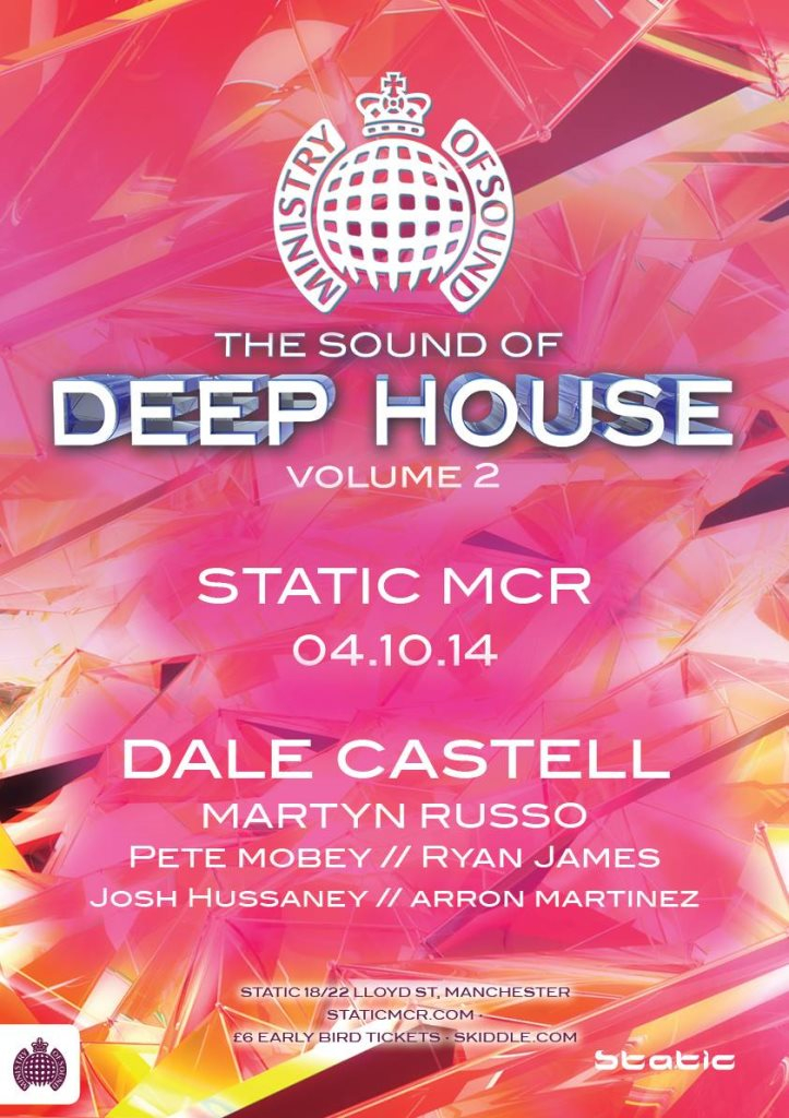 2014 ministry of sound deep house epic for Epic deep house