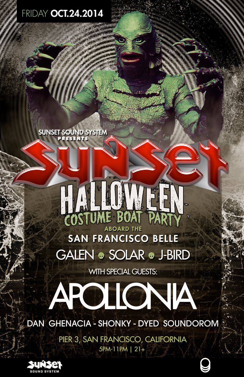 RA: Sunset Sound System Halloween Costume Boat Party After-Party ...