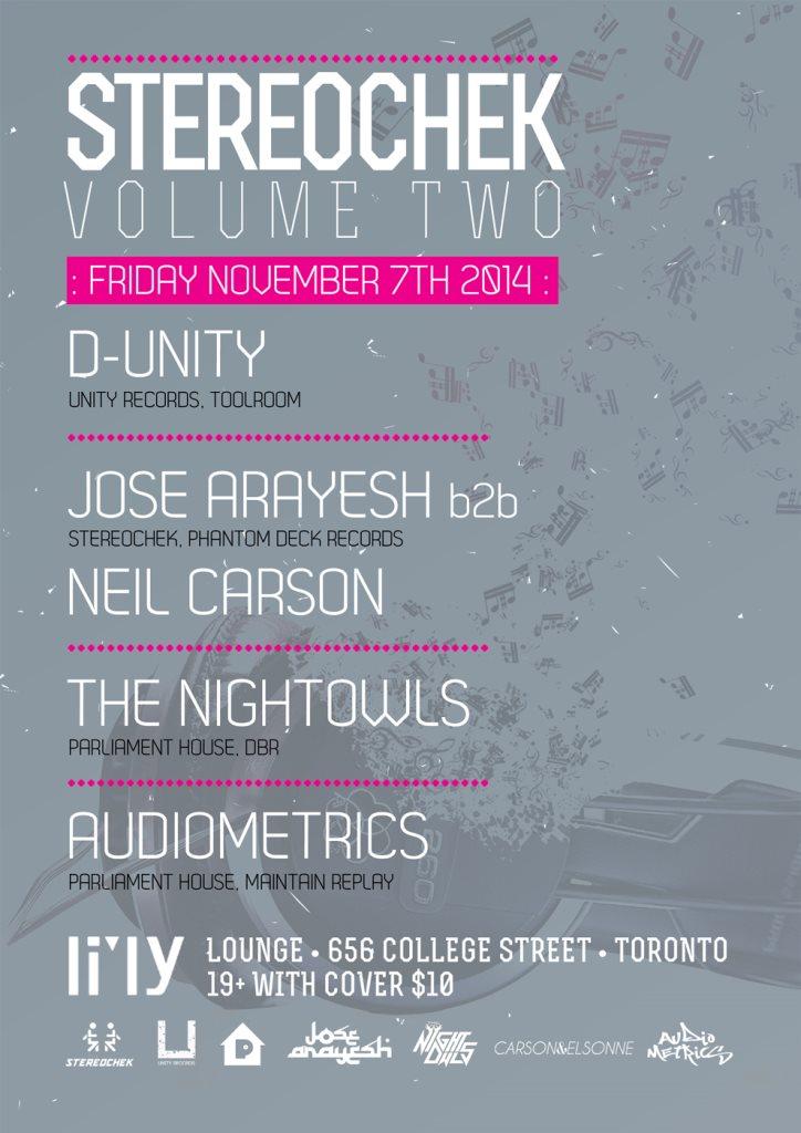 RA: Stereochek - Volume 2 at Li'ly Resto Lounge, Toronto (2014)