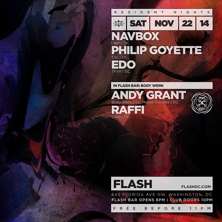 RA: Resident Nights: Navbox, Philip Goyette, Edo, Body Werk at ...