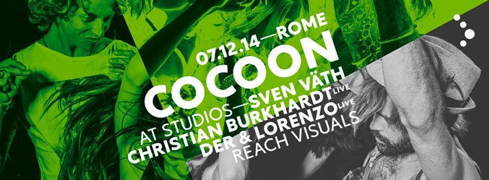 Page 1 | Cocoon Rome: Sven Vath, Christian Burkhardt, Der & Lorenzo at Studios Sunday... Published by DjMaverix on Thursday, 04 December 2014 in Clubs and Discoteque (Events)