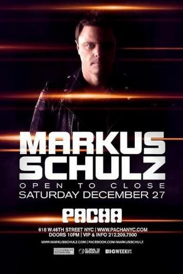 Page 1 | 27/12/2014 | New York | Markus Schulz - at Pacha NYC. Published by DjMaverix on Tuesday, 09 December 2014 in Clubs and Discoteque (Events)