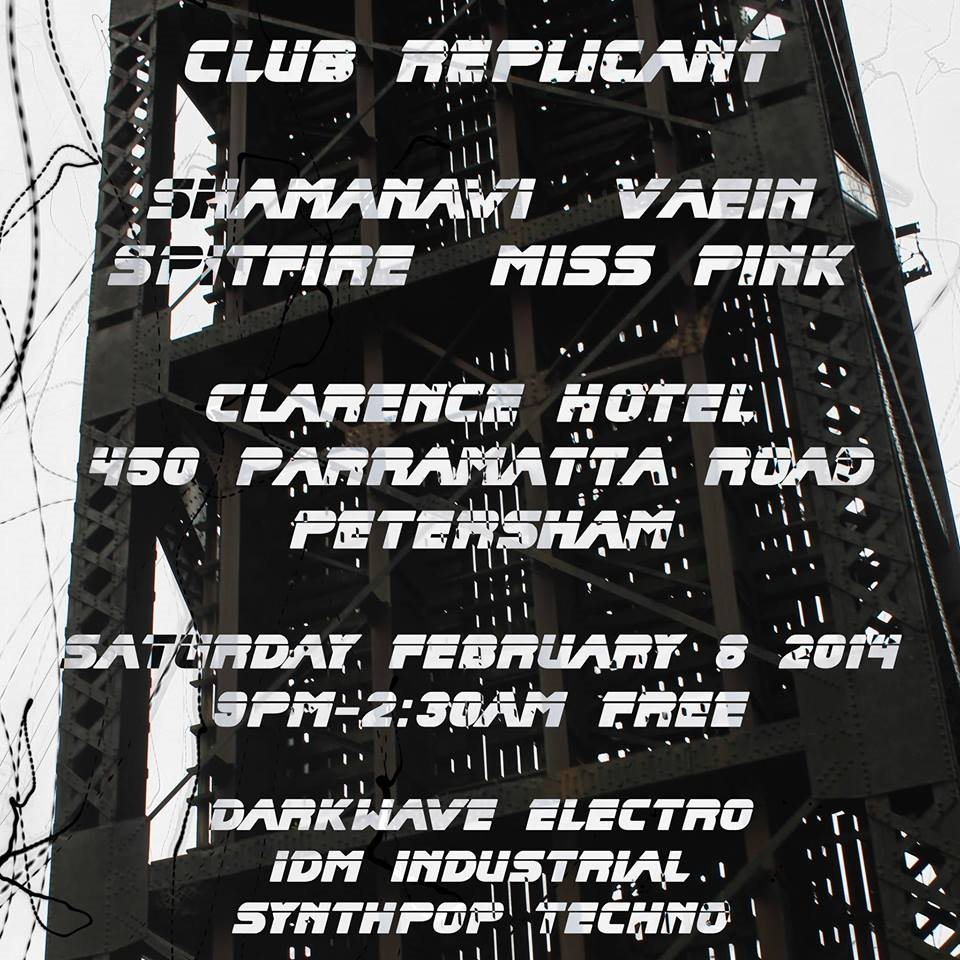 Club Replicant at The Clarence Hotel, Petersham