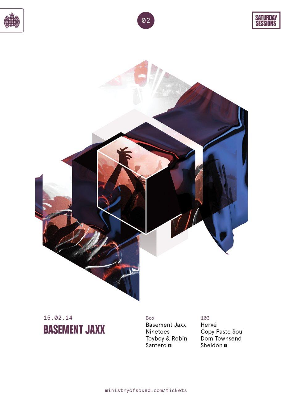 ra saturday sessions basement jaxx at ministry of sound london