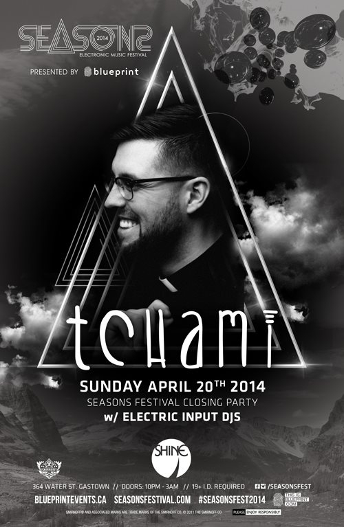 Ra tchami seasons festival shine at mia vancouver 2014 line up malvernweather Gallery