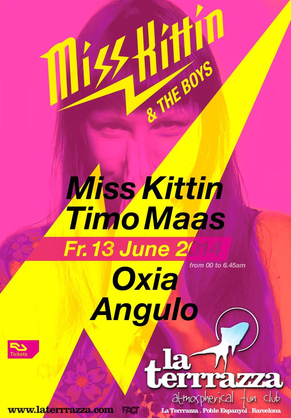 Ra Miss Kittin The Boys At La Terrrazza Barcelona 2014