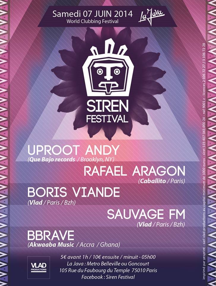 RA: Siren Festival || Electro World Clubbing & Global Beats at ...