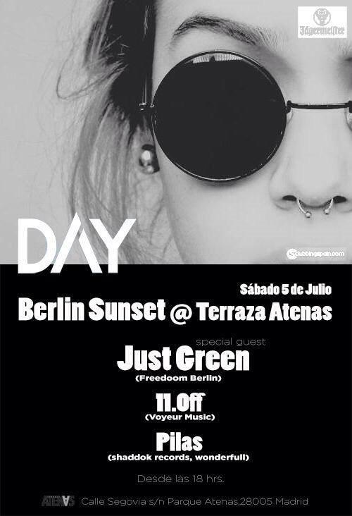 Ra Berlin Sunset At Terraza Atenas Madrid 2014