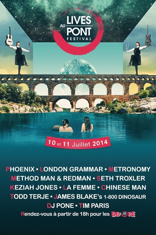 Ra Festival Lives Au Pont 2014 At Pont Du Gard South East