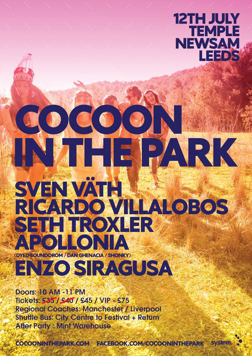 RA: Cocoon In The Park - 2014 at Temple Newsam, Leeds (2014)