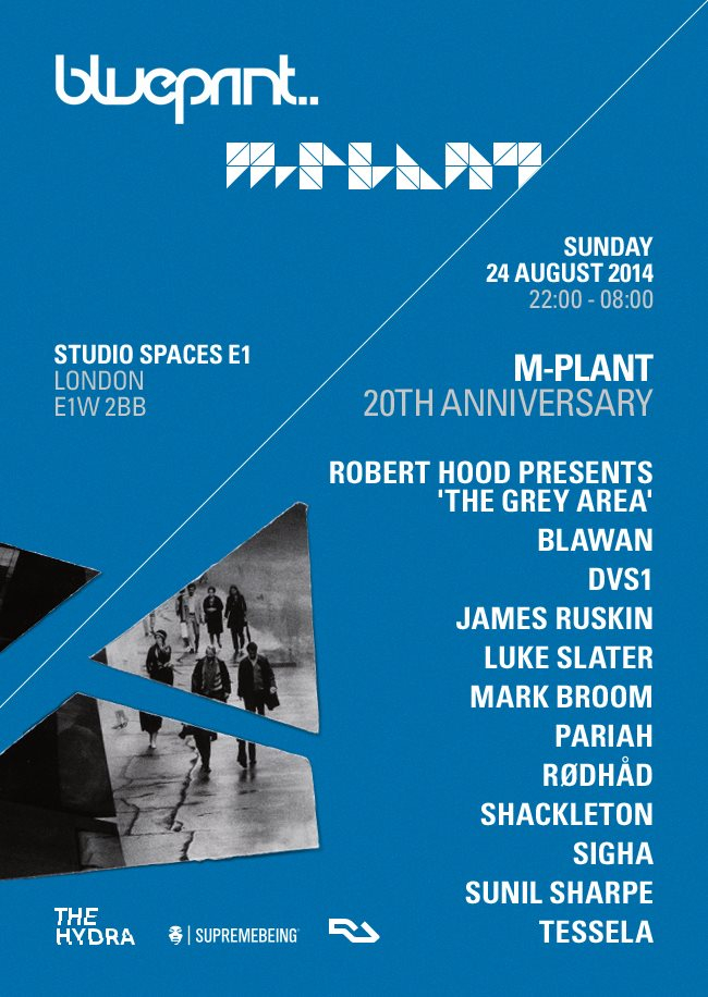 Ra the hydra blueprint m plant 20th anniversary with robert hood line up malvernweather Gallery