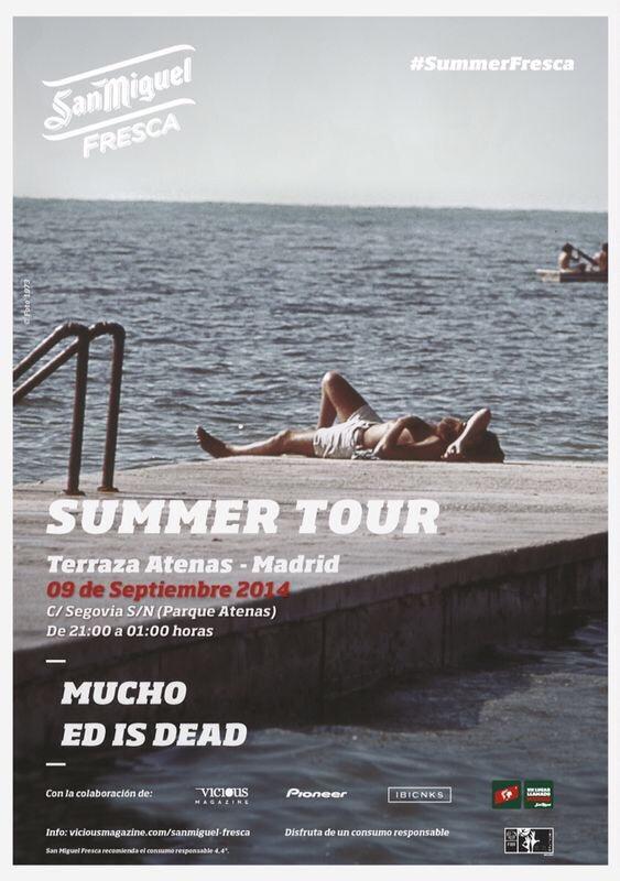 Ra Summer Tour Mucho Ed Is Dead At Terraza Atenas