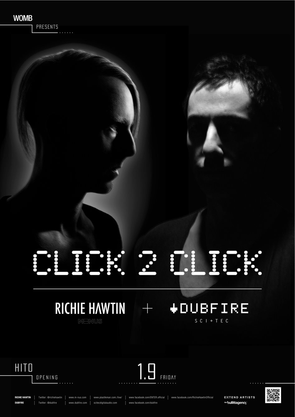 Page 1   09/01/2015   Tokyo   presents Click 2 Click at Womb. Published by DjMaverix on Sunday, 04 January 2015 in Clubs and Discoteque (Events)