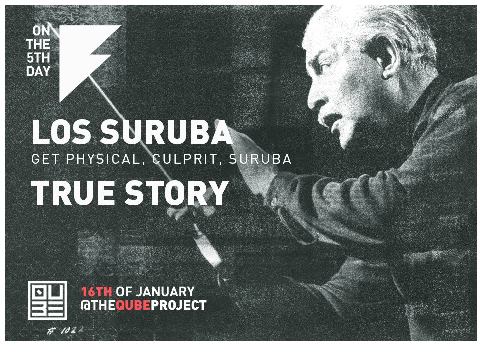 Page 1 | 16/01/2015 | London On the 5th Day: Los Suruba at The Qube Project. Published by DjMaverix on Friday, 09 January 2015 in Clubs and Discoteque (Events)