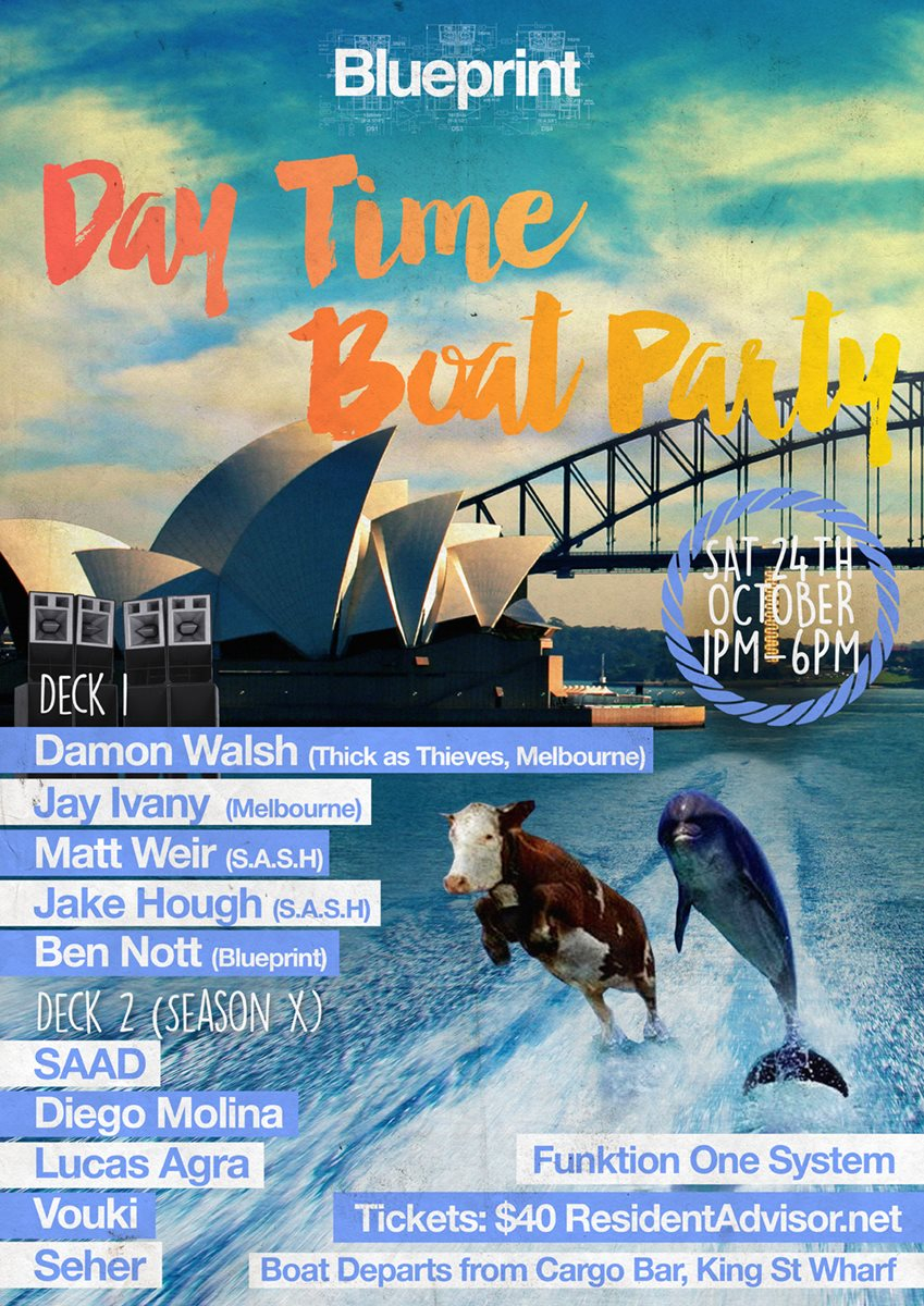 Ra blueprint warehouse party byo at darling harbour sydney 2015 line up malvernweather Gallery
