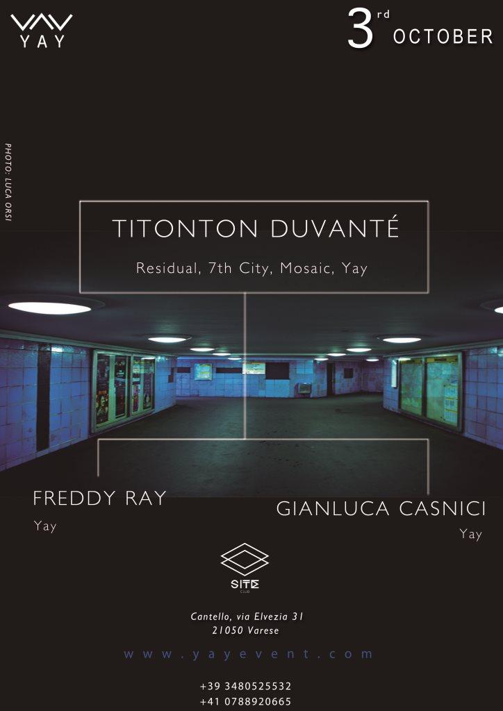 Titonton Duvanté* Titonton - Endorphin EP
