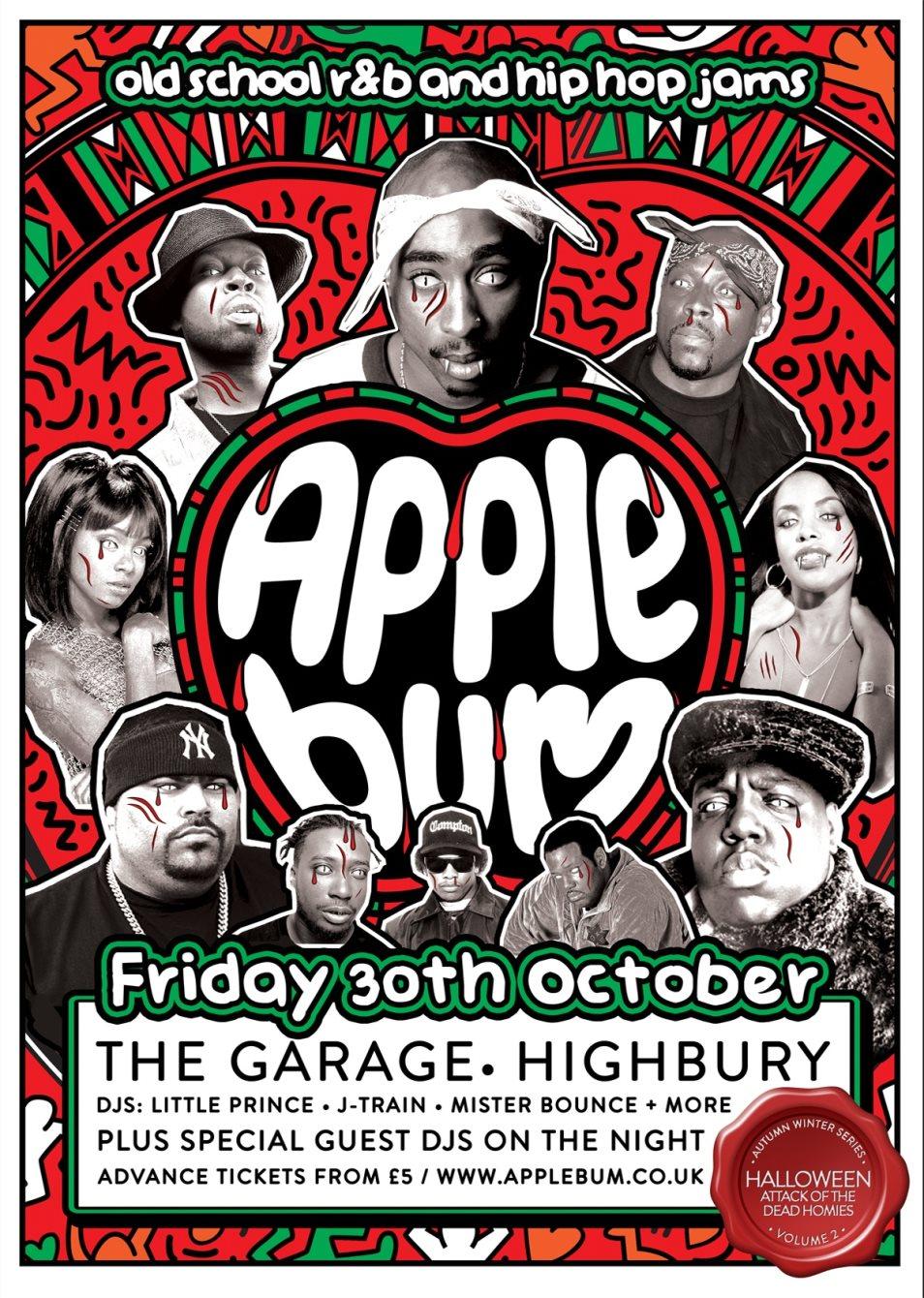 Ra Applebum Old School Hip Hop And R Amp B Halloween