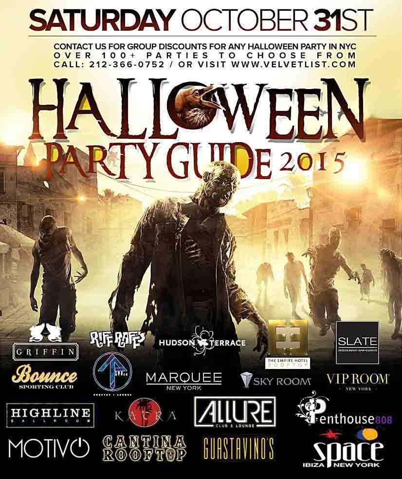 RA: Yotel Terrace NYC Halloween Party 2015 at Yotel Terrace, New ...
