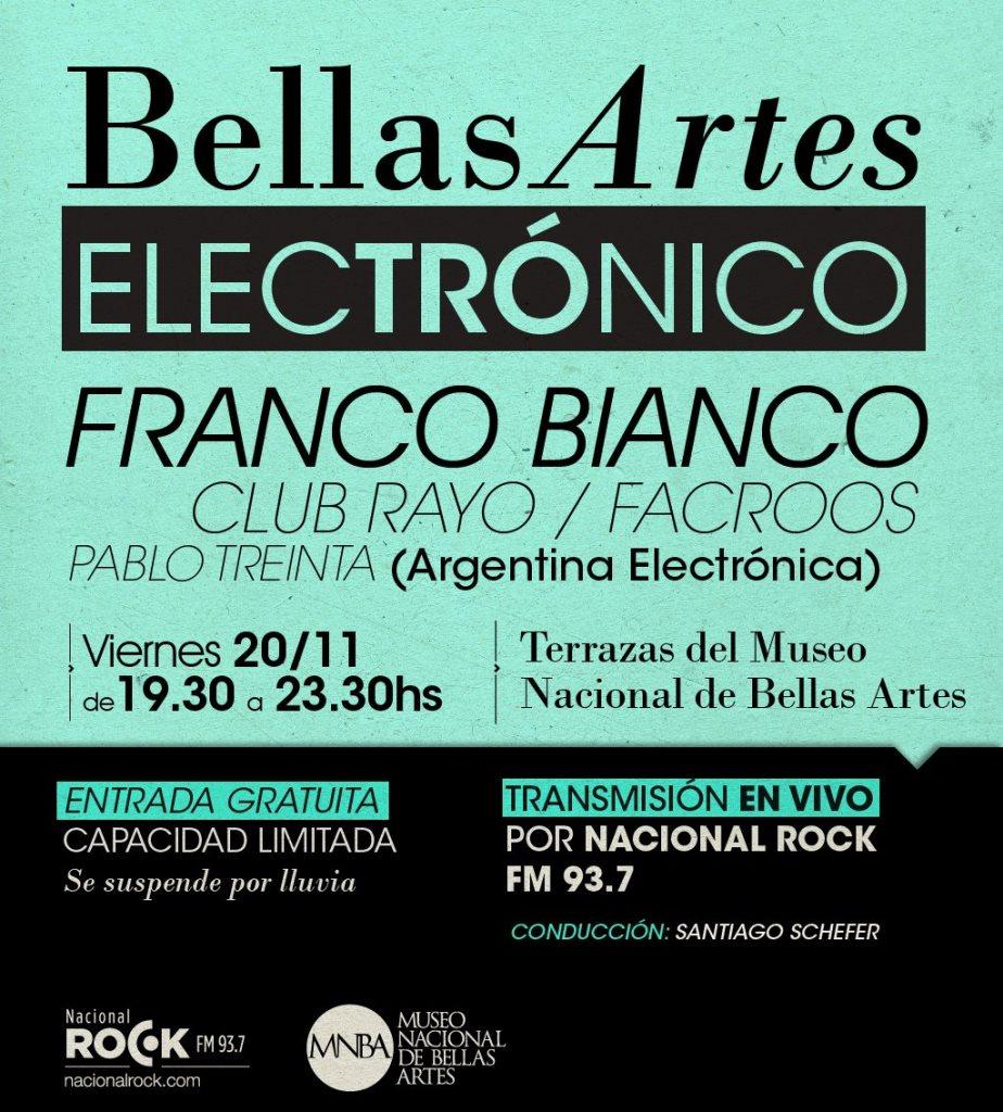 Ra Franco Bianco At Museo Nacional De Bellas Artes