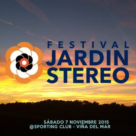 Ra jardin st reo at espacio sporting de vi a del mar for Jardin stereo 2015 line up
