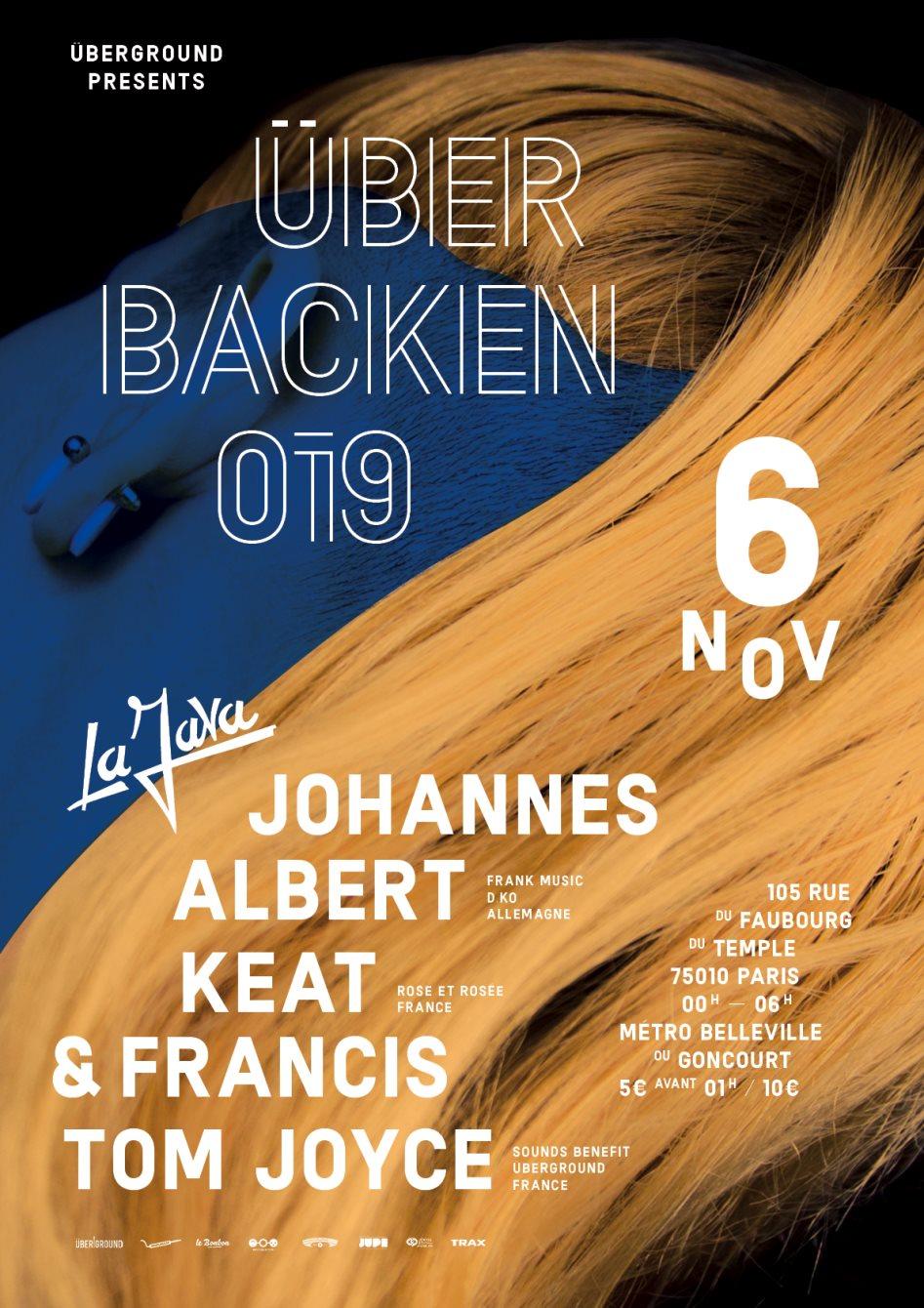 RA: Überbacken 019 with Johannes Albert, Rose et Rosée & Tom Joyce ...