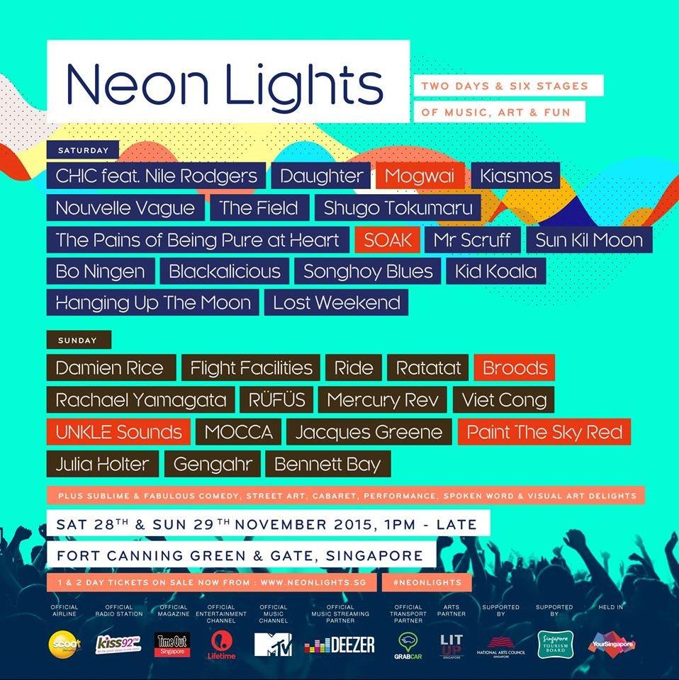 Singapore's Music & Arts Festival