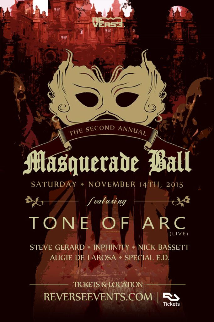 RA The 2nd Annual Underground Masquerade Ball Feat Tone Of Arc