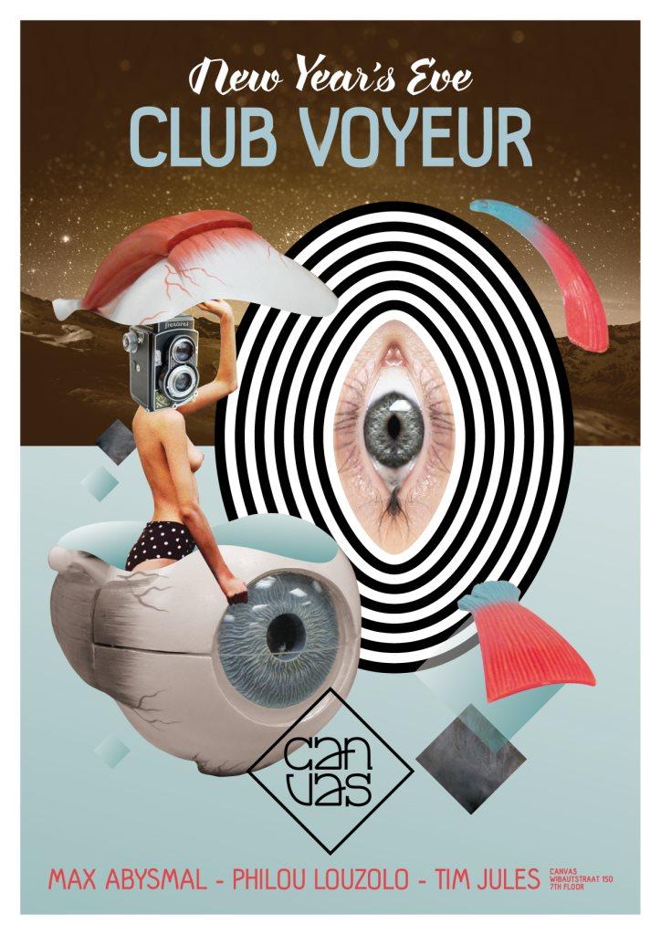 RA: Club Voyeur at Canvas, Amsterdam (2015)