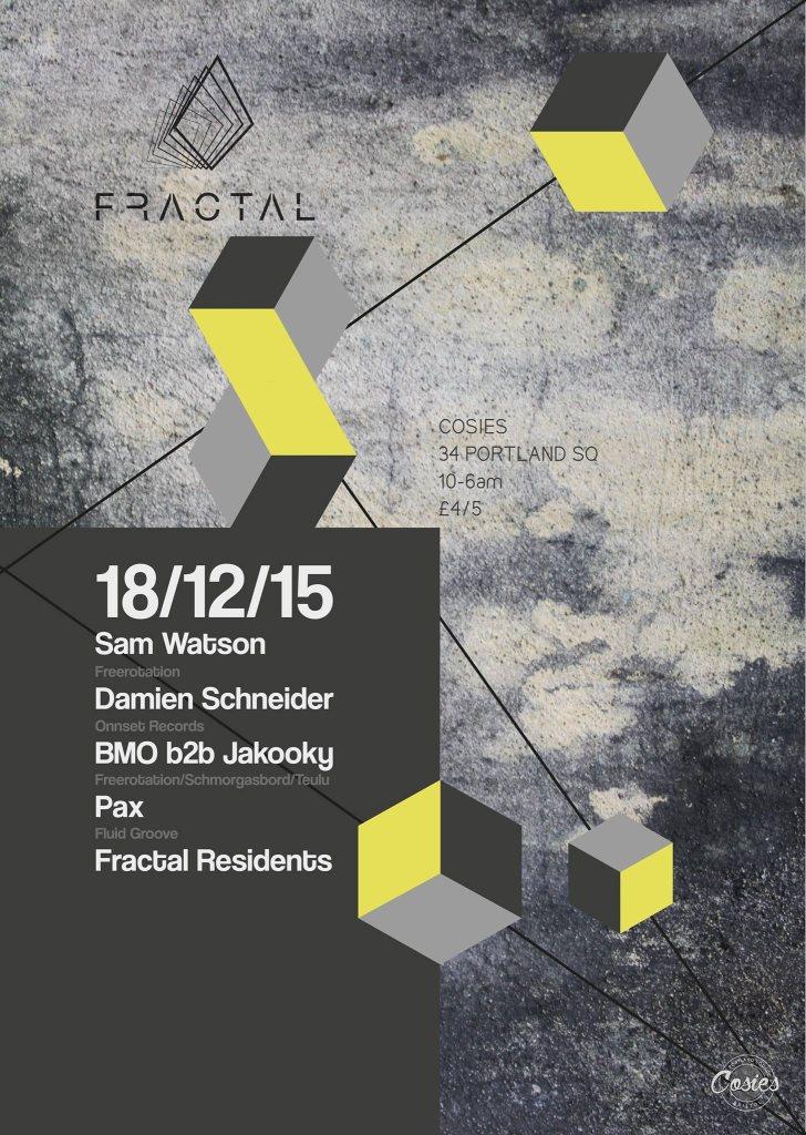 Fractal at Cosies - Bristol UK - YouTube