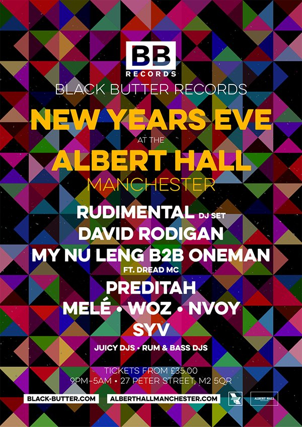 RA: New Years Eve with Black Butter Records at Albert Hall ...