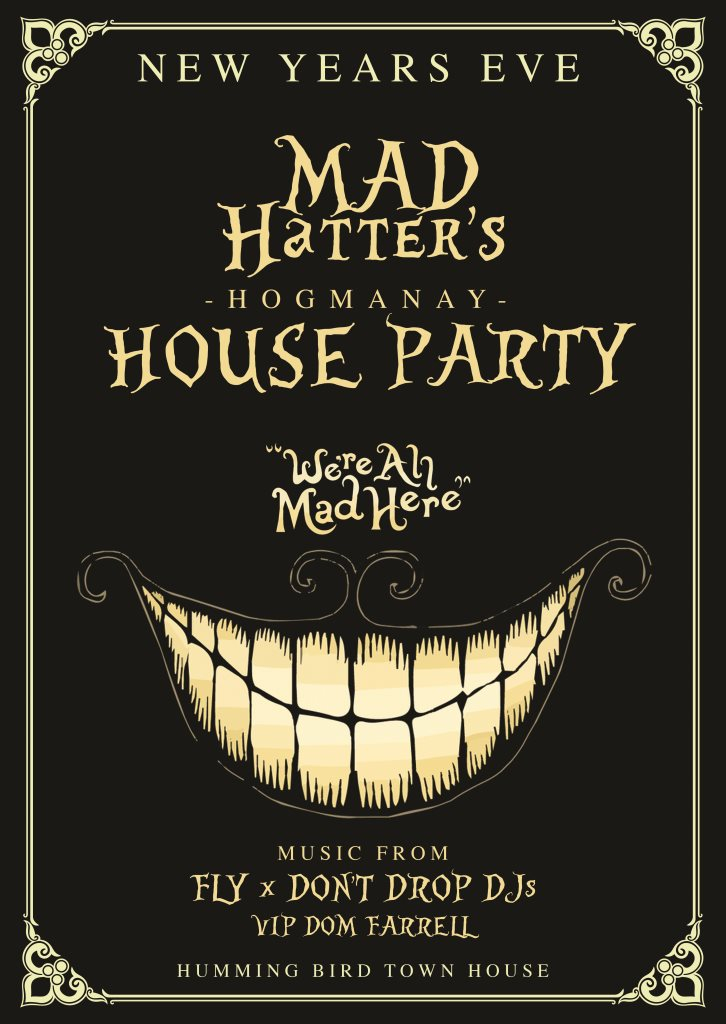 RA: NYE Glasgow - Mad Hatter\'s Hogmanay House Party at Hummingbird ...