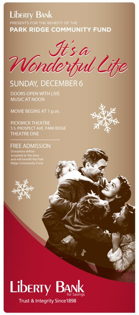 Ra It 39 S A Wonderful Life Free Screening By Liberty Bank At Pickwick Theatre Chicago 2015