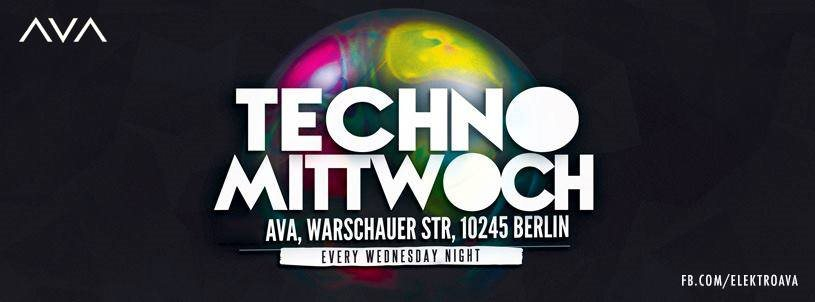 Page 1 | 04/02/2015 | Berlin | Techno Mittwoch at AVA Club. Published by DjMaverix on Monday, 02 February 2015 in Clubs and Discoteque (Events)