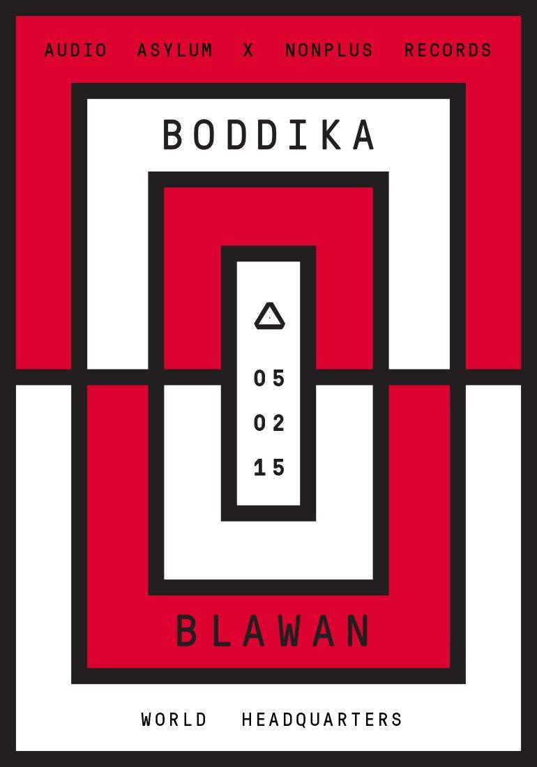 RA: Audio Asylum x Nonplus Records: Boddika & Blawan at The