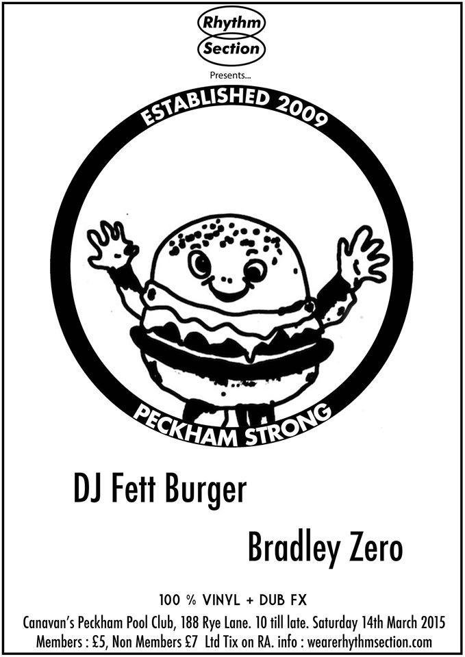 Ra Rhythm Section With Dj Fett Burger Bradley Zero At Canavans