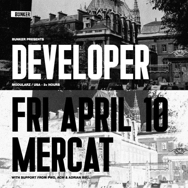 RA: Bunker Presents Developer At The Mercat Basement
