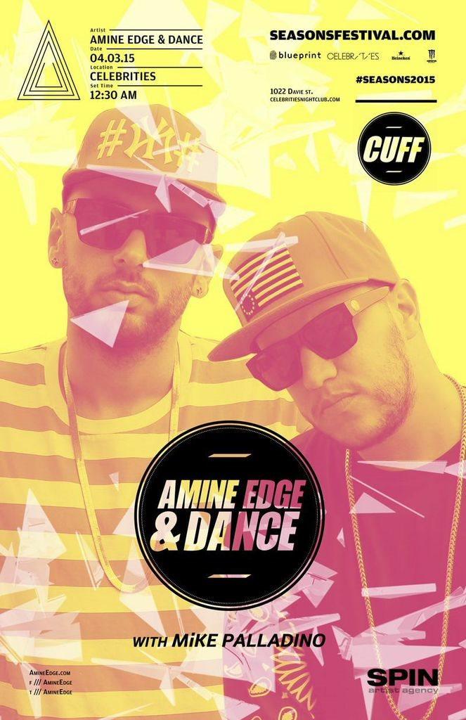 Ra amine edge dance seasons2015 at celebrities night club line up malvernweather Gallery