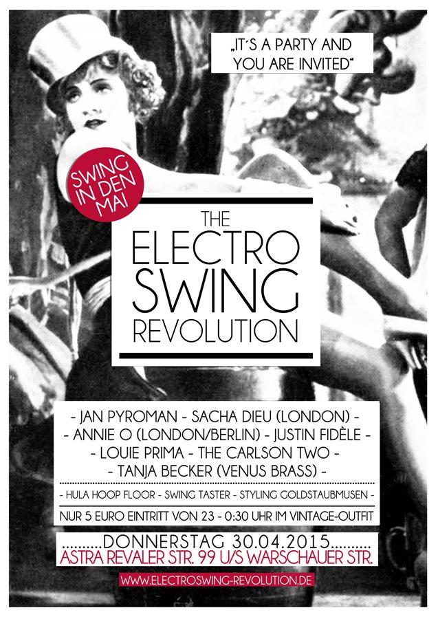 RA: Electro Swing Revolution at Astra Kulturhaus, Berlin (2015)