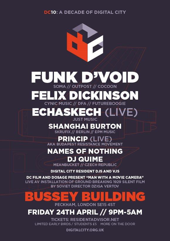 Funk D'Void Live