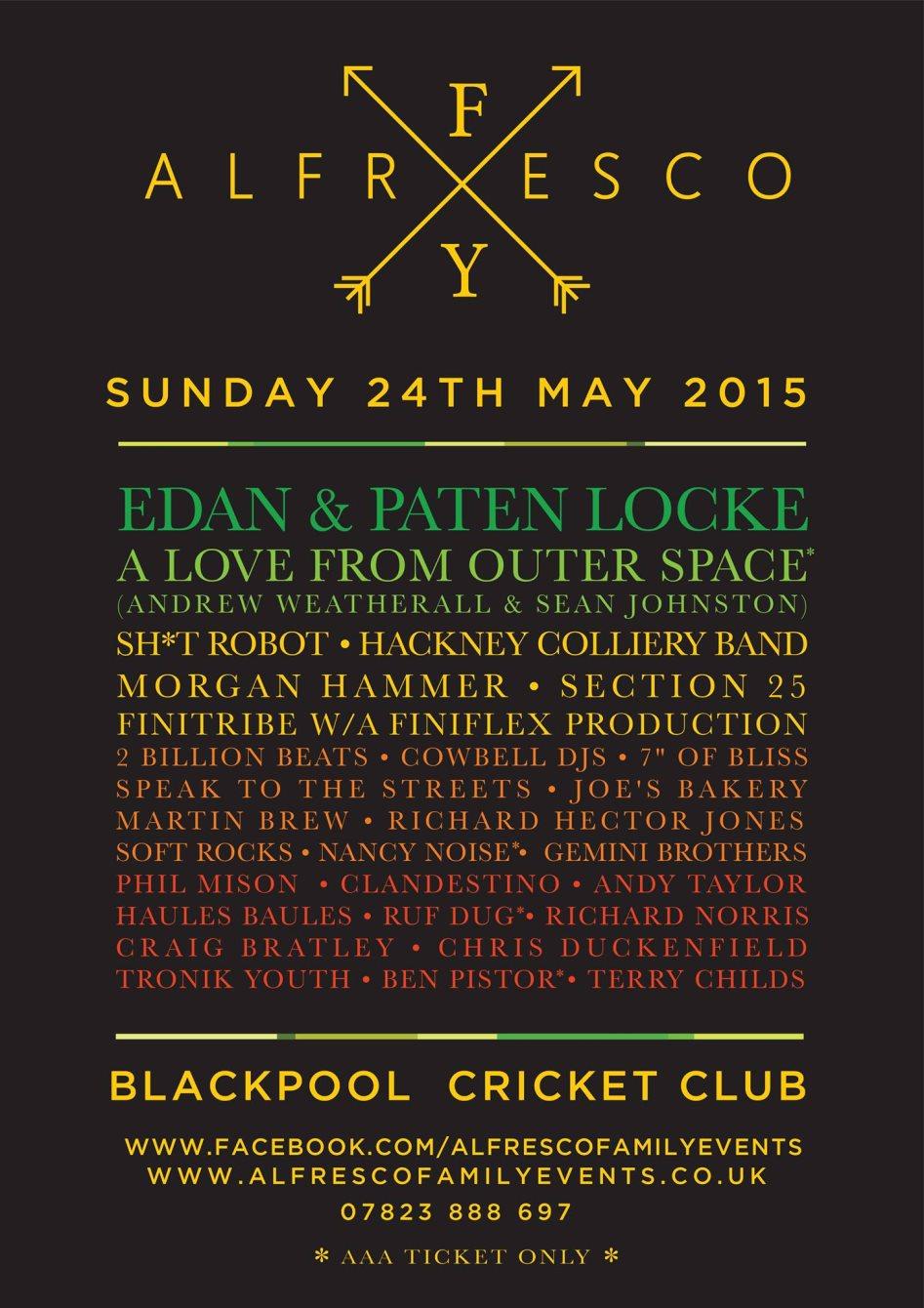 Ra Alfresco Family Festival 2015 At Blackpool Cricket