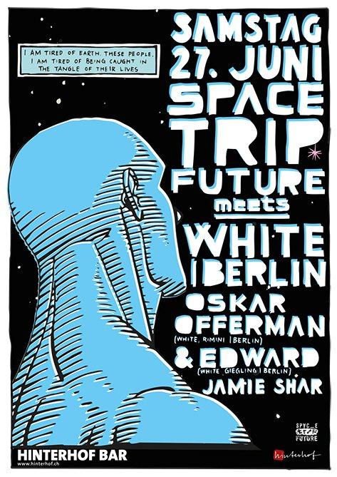 Ra Space Trip Future Meets White Records At Hinterhof