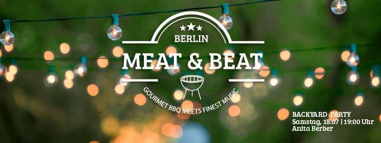 RA Meat Beat Backyard Party At Anita Berber Berlin 2015